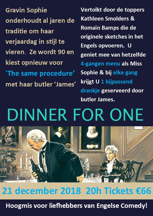 Dinner for one flyer 21-12-18
